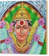 Ekvira Devi Wood Print by Kalpana Talpade Ranadive