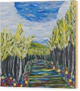 El Camino - Primavera - The Path - Spring Wood Print
