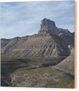 El Capitan - Guadalupe Mountains National Park Wood Print