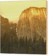 El Capitan Yosemite Valley Wood Print