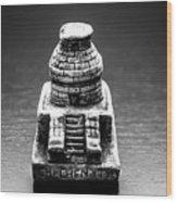 El Caracol Observatory Wood Print