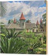 El Castillo Wood Print