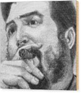 El Che Wood Print