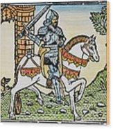 El Cid Campeador (1040?-1099) Wood Print