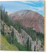 El Diente Peak Wood Print