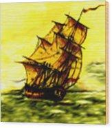 El Dorado Wood Print