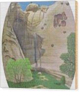 El Estanque Del Penol Wood Print