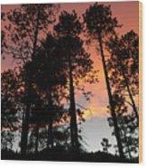 El Fuego De Santa Fe Wood Print