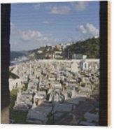 El Morro Cemetery Framed Wood Print