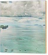 El Nido Bay Wood Print