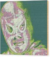 El Santo The Masked Wrestler 20130218v2m80 Wood Print