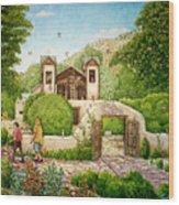 El Santuario De Chimayo Wood Print