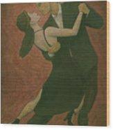 El Tango Wood Print
