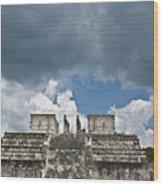 El Templo De Las Columnas  1 Wood Print