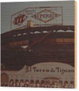El Toreo De Tijuana Wood Print