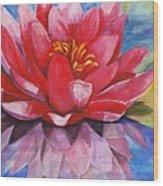 Ela Lily Wood Print