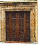 Elaborate Puerta Wood Print