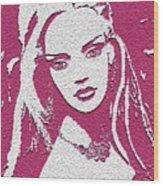 Elaina Wood Print