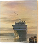 Elation - Leaving For A Cruise Wood Print