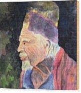 Elder Wood Print