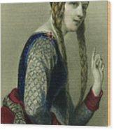 Eleanor Of Aquitaine, Queen Of Henry II Wood Print
