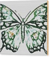 Election 2020 Presidential Candidate Catherien Lott Usa Green Butterfly Wood Print