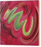 Electric Candy Wood Print