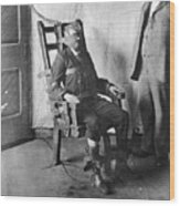 Electric Chair, 1908 Wood Print