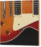 Electric Guitar 4 Wood Print