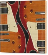 Electric Guitar IIi Wood Print
