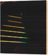 Electric Guitar Strings Wood Print