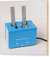 Electro-magnet Magnetizer Wood Print