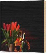 Elegance Wood Print by Lourry Legarde
