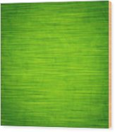 Elegant Green Abstract Background Wood Print