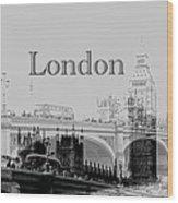 Elegant London Wood Print