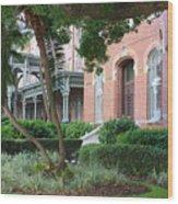 Elegant Retreat In Tampa Wood Print