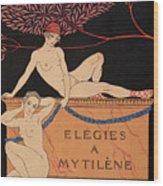 Elegies A Mytilene Wood Print