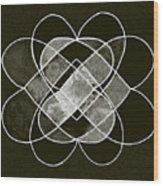 Elemetal Matrix Wood Print