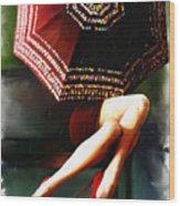 Elena Umbrella Wood Print