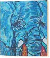 Elephant #3 Wood Print