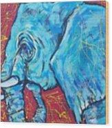 Elephant #4 Wood Print