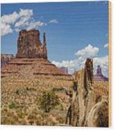 Elephant Butte - Monument Valley - Arizona Wood Print