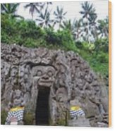 Elephant Cave Temple Wood Print