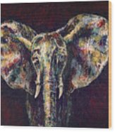 Elephant Ears Wood Print