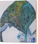 Elephant Man Wood Print