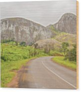 Elephant Rock, Malawi Wood Print