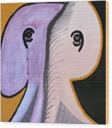 Elephants Are Gray - Sold Wood Print