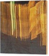 Eletric Fence Wood Print