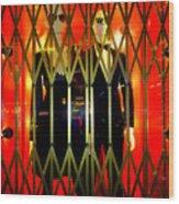 Elevator Elegance Wood Print