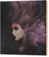 Elf Mystical Beauty 02 Wood Print